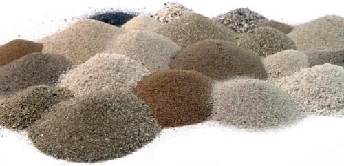 Разновидности песка